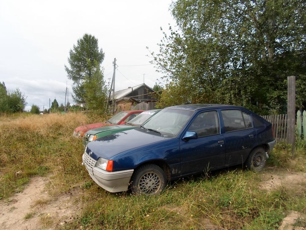 Подержанный Opel Kadett, хорошее состояние, фиолетовый металлик, 1988 года выпуска, цена 100 000 руб. в ао. Ханты-Мансийском Автономном округе - Югре