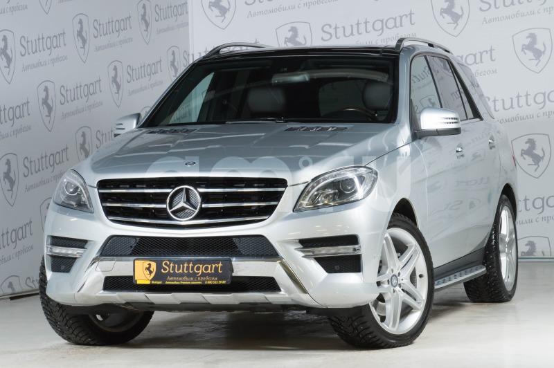 Mercedes-Benz M-Класс с пробегом, серый , отличное состояние, 2012 года выпуска, цена 2 350 000 руб. в автосалоне  ()