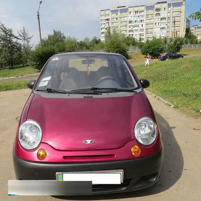 Подержанный Daewoo Matiz, отличное состояние, бордовый , 2011 года выпуска, цена 140 000 руб. в республике Татарстане