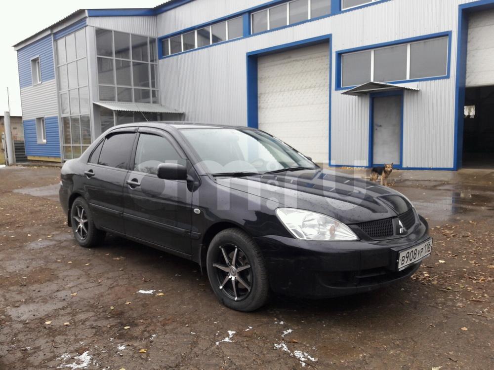 Подержанный Mitsubishi Lancer, отличное состояние, черный , 2007 года выпуска, цена 320 000 руб. в республике Татарстане