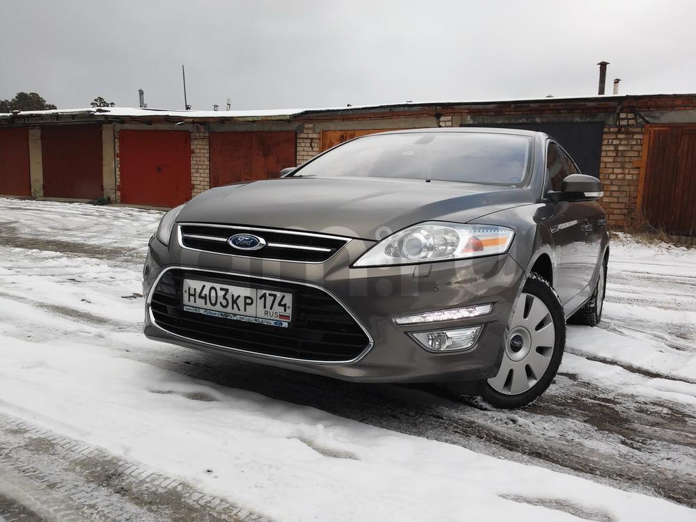 Подержанный Ford Mondeo, отличное состояние, серый металлик, 2010 года выпуска, цена 720 000 руб. в Челябинской области