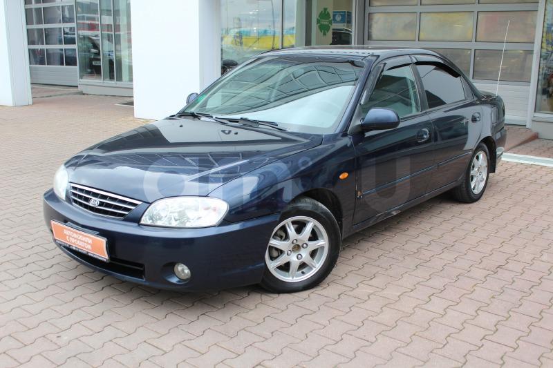 Kia Spectra с пробегом, синий , отличное состояние, 2008 года выпуска, цена 169 000 руб. в автосалоне  ()