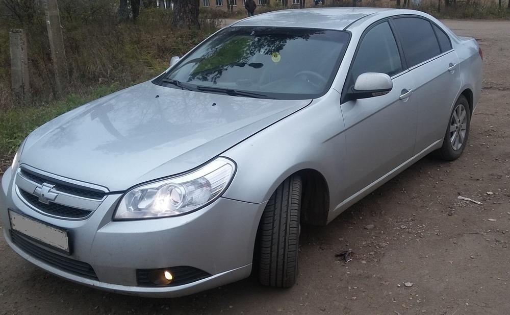 Подержанный Chevrolet Epica, хорошее состояние, серебряный , 2011 года выпуска, цена 400 000 руб. в Смоленской области