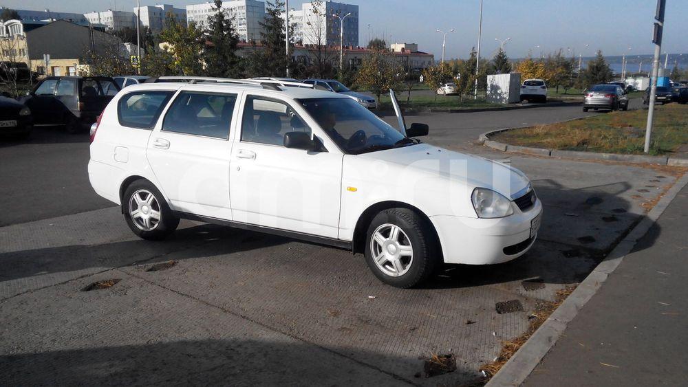 Подержанный ВАЗ (Lada) Priora, отличное состояние, белый , 2010 года выпуска, цена 210 000 руб. в республике Татарстане
