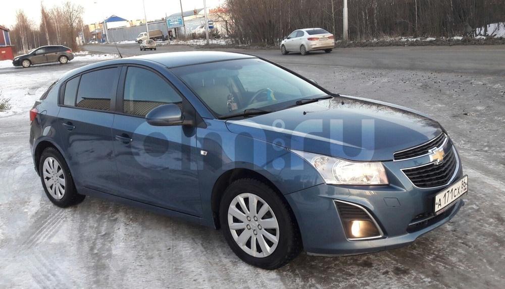 Подержанный Chevrolet Cruze, отличное состояние, синий , 2013 года выпуска, цена 485 000 руб. в ао. Ханты-Мансийском Автономном округе - Югре