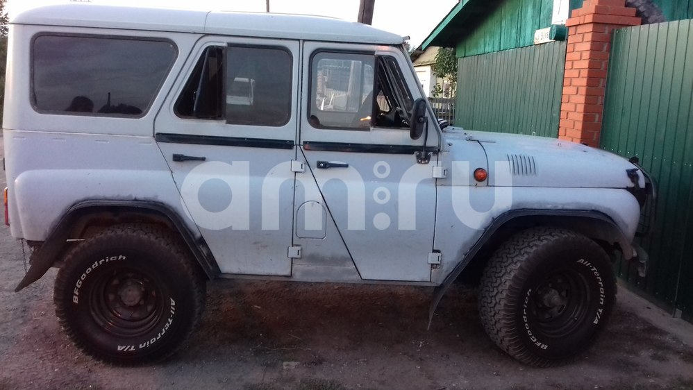 Подержанный УАЗ 3151, хорошее состояние, серый , 1998 года выпуска, цена 120 000 руб. в Челябинской области