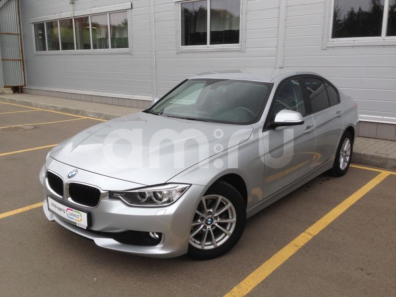BMW 3 серия с пробегом, серебряный , отличное состояние, 2013 года выпуска, цена 1 025 000 руб. в автосалоне  ()
