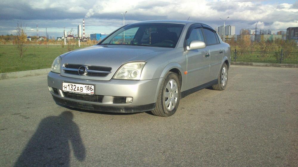 Подержанный Opel Vectra, отличное состояние, серебряный , 2003 года выпуска, цена 290 000 руб. в ао. Ханты-Мансийском Автономном округе - Югре