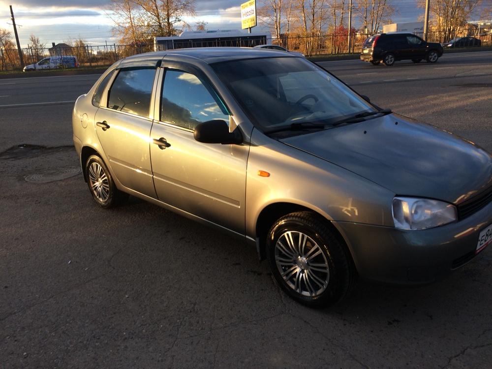 Подержанный ВАЗ (Lada) Kalina, отличное состояние, серый , 2008 года выпуска, цена 149 000 руб. в республике Татарстане