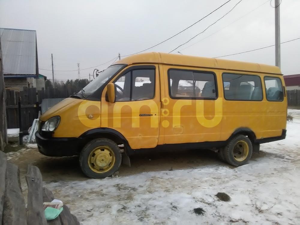 Подержанный ГАЗ Газель, среднее состояние, желтый матовый, 2005 года выпуска, цена 135 000 руб. в ао. Ханты-Мансийском Автономном округе - Югре