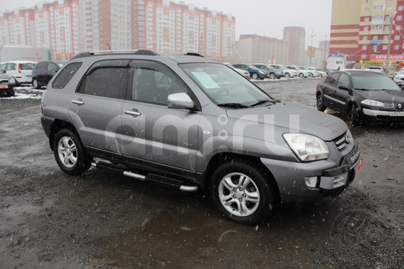 Kia Sportage с пробегом, серый , хорошее состояние, 2006 года выпуска, цена 595 000 руб. в автосалоне  ()
