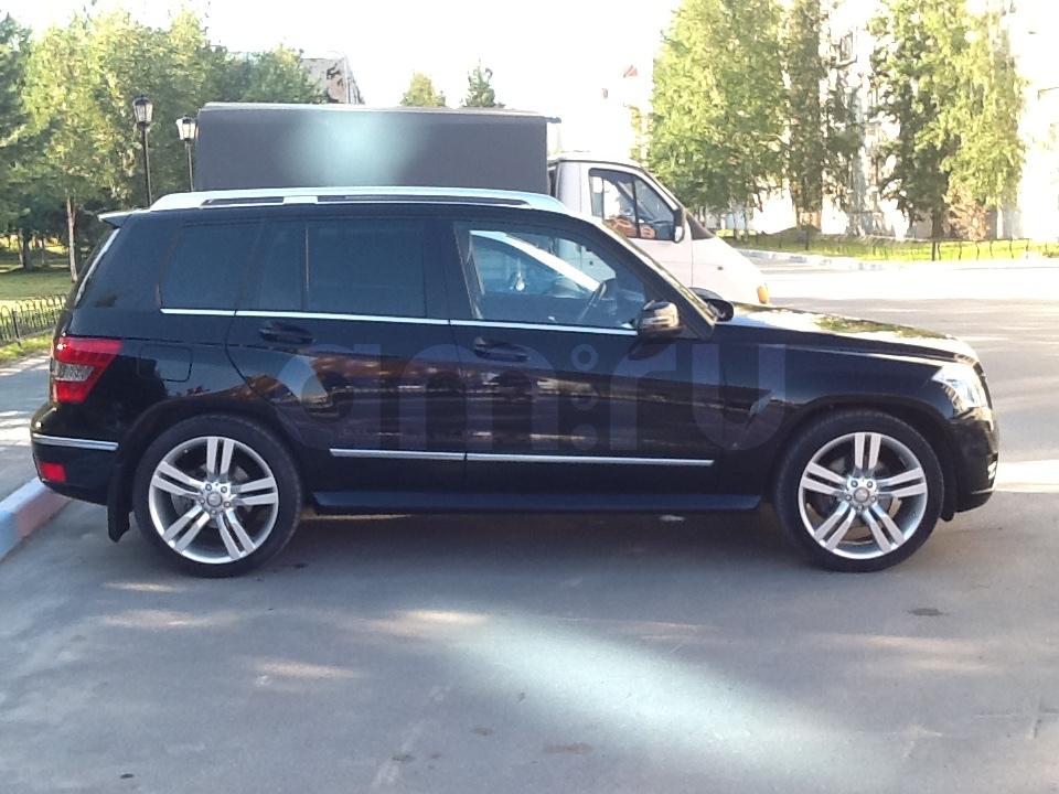 Подержанный Mercedes-Benz GLK-Класс, отличное состояние, черный металлик, 2010 года выпуска, цена 1 350 000 руб. в ао. Ханты-Мансийском Автономном округе - Югре