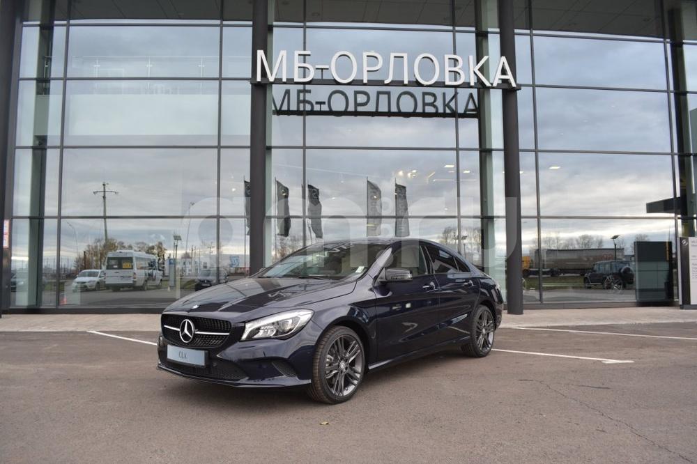 Новый авто Mercedes-Benz CLA-Класс, синий металлик, 2016 года выпуска, цена 2 369 000 руб. в автосалоне МБ-Орловка (Набережные Челны, тракт Мензелинский, д. 24)