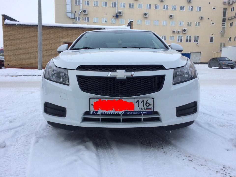 Подержанный Chevrolet Cruze, отличное состояние, белый , 2011 года выпуска, цена 425 000 руб. в республике Татарстане