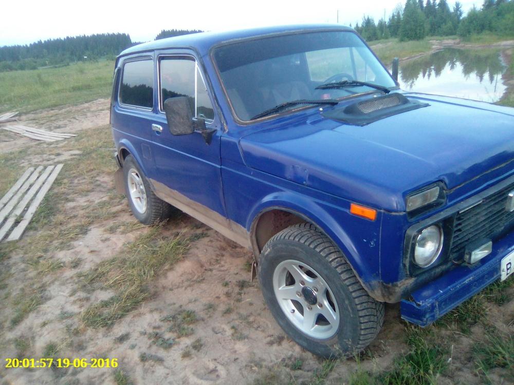 Подержанный ВАЗ (Lada) 4x4, хорошее состояние, синий матовый, 1990 года выпуска, цена 65 000 руб. в ао. Ханты-Мансийском Автономном округе - Югре