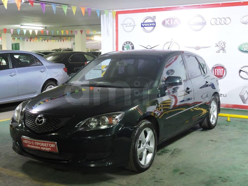 Mazda 3 с пробегом, зеленый металлик, отличное состояние, 2004 года выпуска, цена 295 000 руб. в автосалоне Митино-Авто (Москва, пер. Волоцкой, д. 3 (ст. м. Митино))