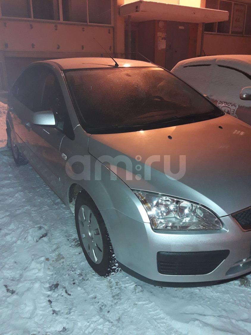 Подержанный Ford Focus, отличное состояние, серебряный , 2007 года выпуска, цена 310 000 руб. в Челябинской области