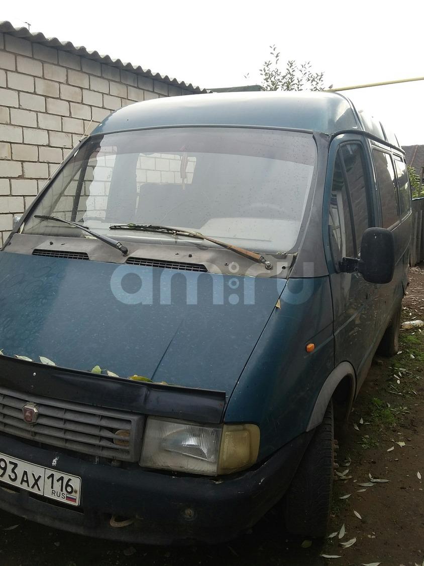 Подержанный ГАЗ Газель, среднее состояние, зеленый , 1998 года выпуска, цена 50 000 руб. в республике Татарстане