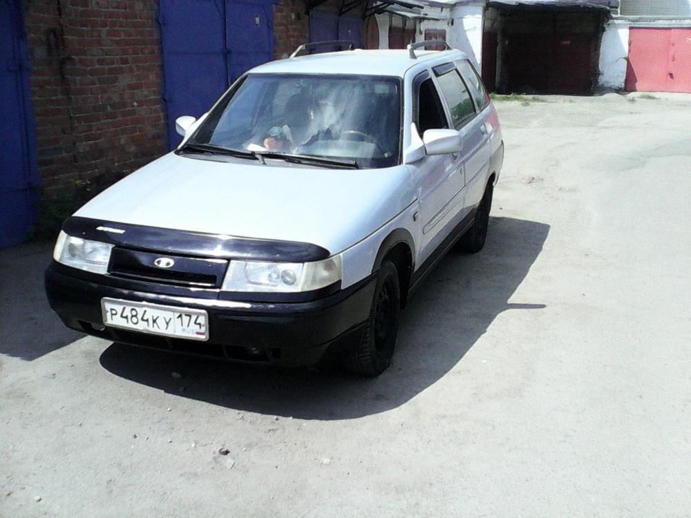 Подержанный ВАЗ (Lada) 2111, хорошее состояние, серебряный , 2005 года выпуска, цена 135 000 руб. в Челябинской области