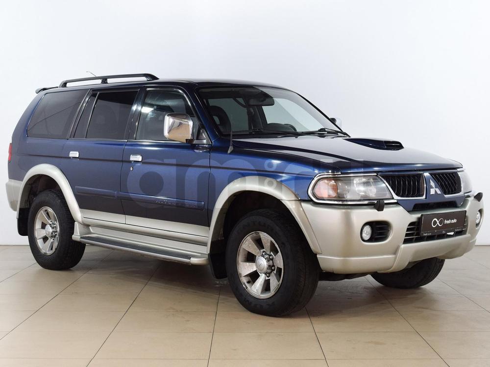 Mitsubishi Pajero Sport с пробегом, синий , отличное состояние, 2005 года выпуска, цена 579 000 руб. в автосалоне  ()