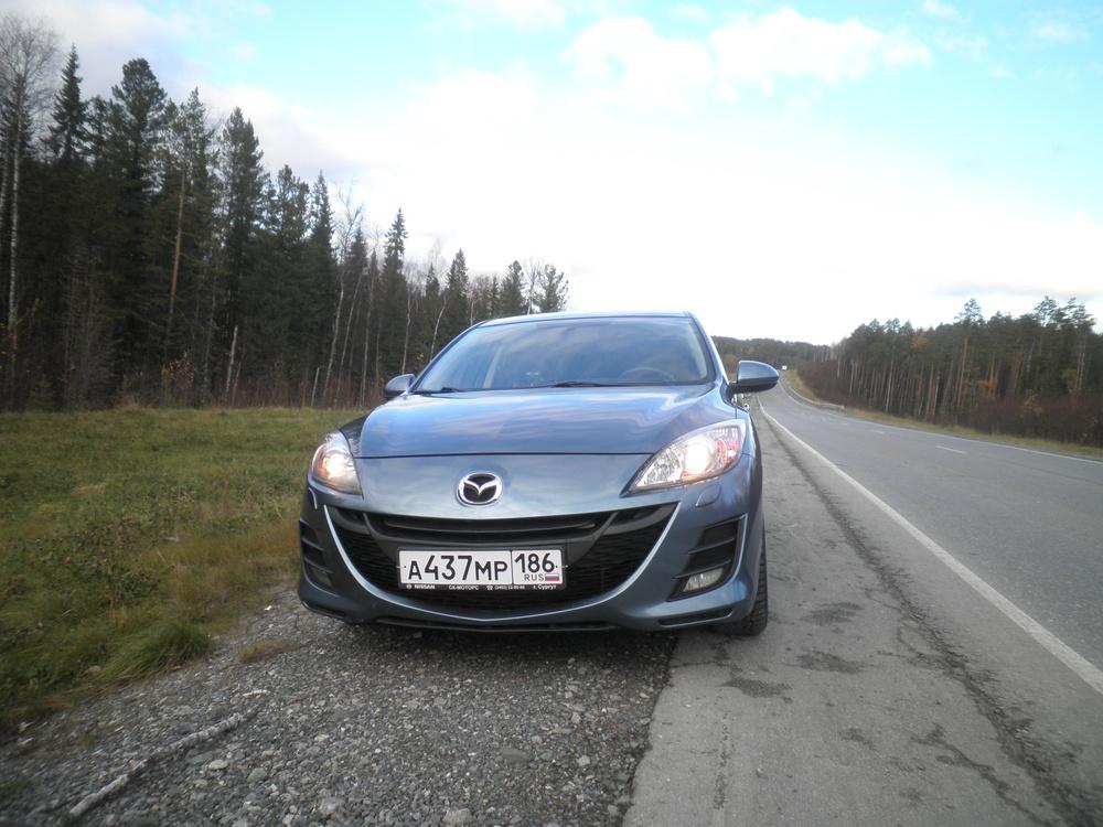 Подержанный Mazda 3, отличное состояние, бирюзовый металлик, 2011 года выпуска, цена 610 000 руб. в ао. Ханты-Мансийском Автономном округе - Югре