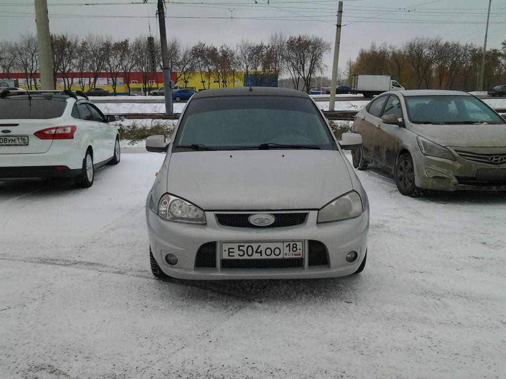 Подержанный ВАЗ (Lada) Kalina, хорошее состояние, серебряный , 2011 года выпуска, цена 197 000 руб. в республике Татарстане