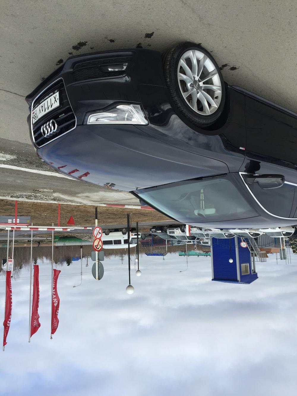 Подержанный Audi A5, отличное состояние, черный , 2013 года выпуска, цена 1 500 000 руб. в ао. Ханты-Мансийском Автономном округе - Югре