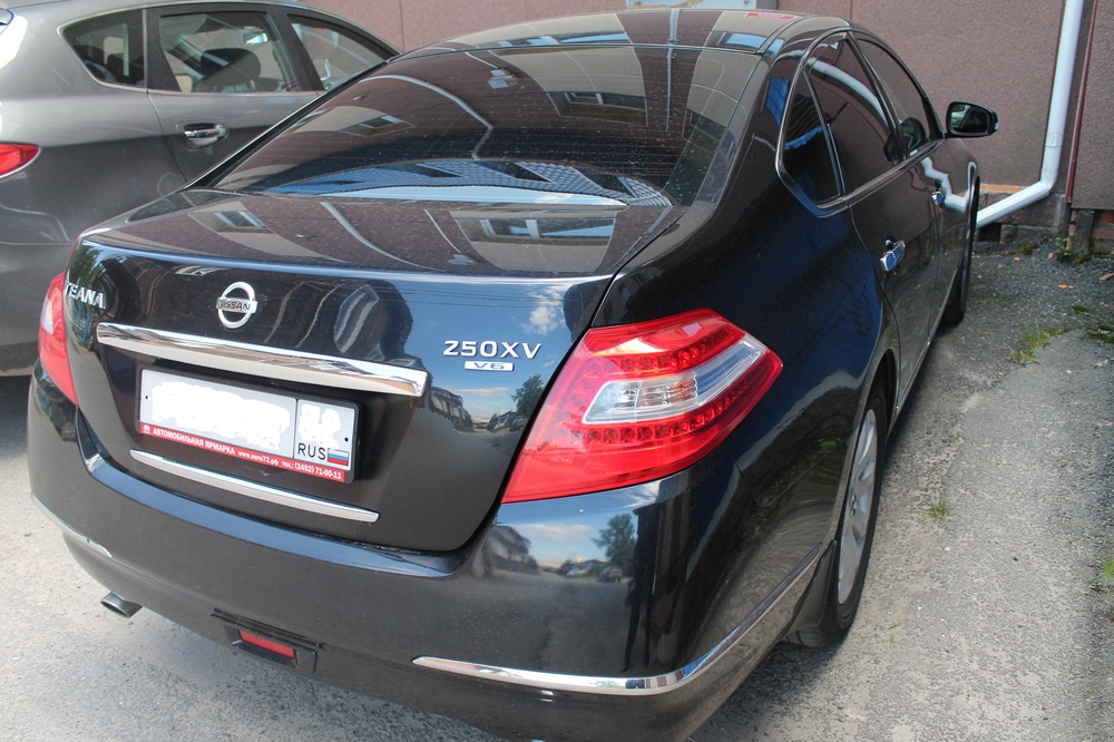 Подержанный Nissan Teana, отличное состояние, черный , 2008 года выпуска, цена 675 000 руб. в ао. Ханты-Мансийском Автономном округе - Югре