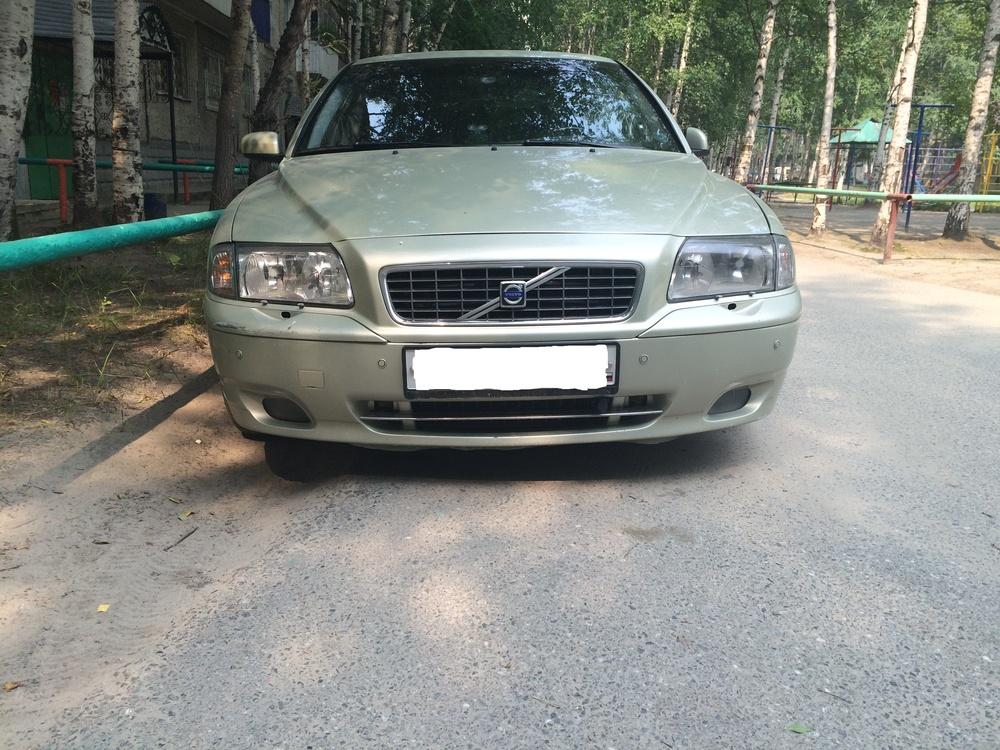 Подержанный Volvo S80, хорошее состояние, зеленый металлик, 2006 года выпуска, цена 460 000 руб. в ао. Ханты-Мансийском Автономном округе - Югре
