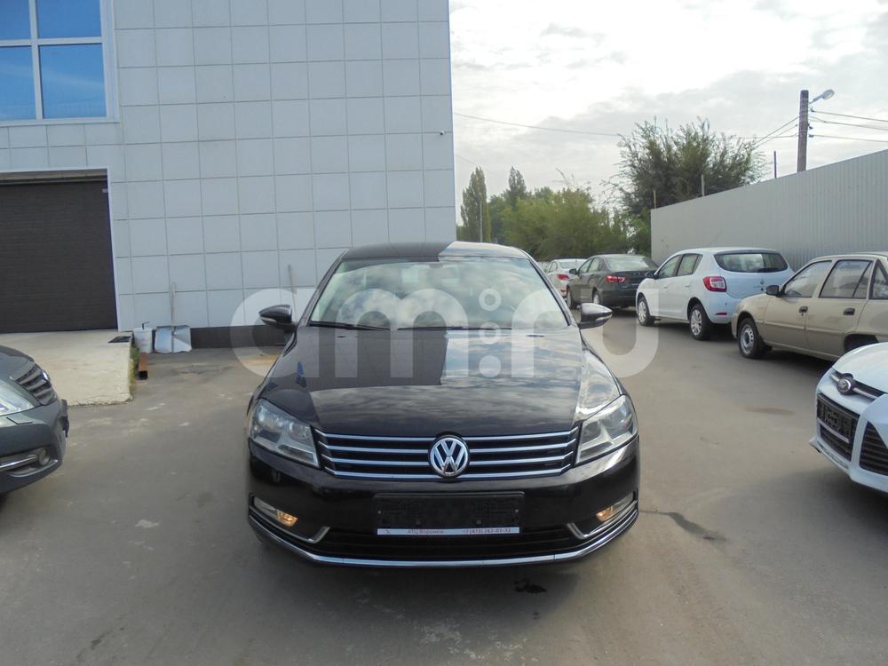 Volkswagen Passat с пробегом, черный металлик, отличное состояние, 2012 года выпуска, цена 780 000 руб. в автосалоне  ()