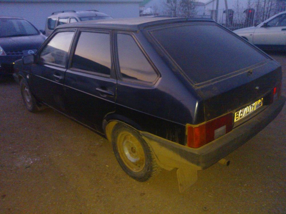 Подержанный ВАЗ (Lada) 2109, среднее состояние, черный , 2003 года выпуска, цена 45 000 руб. в республике Татарстане