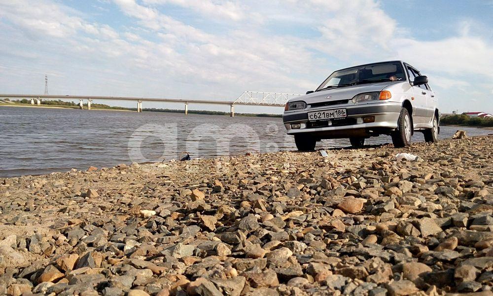 Подержанный ВАЗ (Lada) 2115, отличное состояние, серебряный металлик, 2003 года выпуска, цена 100 000 руб. в ао. Ханты-Мансийском Автономном округе - Югре