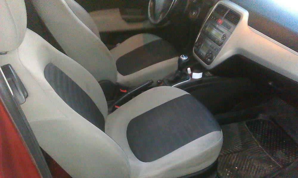 Подержанный Fiat Punto, хорошее состояние, бордовый , 2006 года выпуска, цена 240 000 руб. в Челябинской области