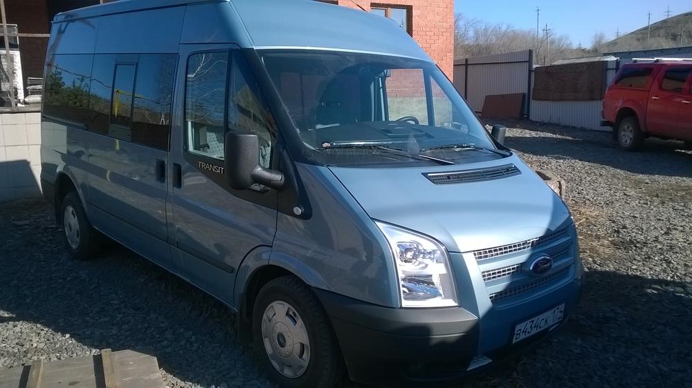 Подержанный Ford Transit, отличное состояние, аквамарин , 2013 года выпуска, цена 1 250 000 руб. в Челябинской области