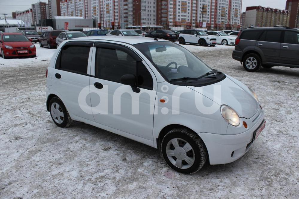 Daewoo Matiz с пробегом, белый , отличное состояние, 2007 года выпуска, цена 170 000 руб. в автосалоне  ()