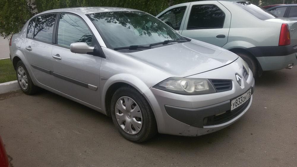 Подержанный Renault Megane, отличное состояние, серебряный , 2006 года выпуска, цена 230 000 руб. в республике Татарстане