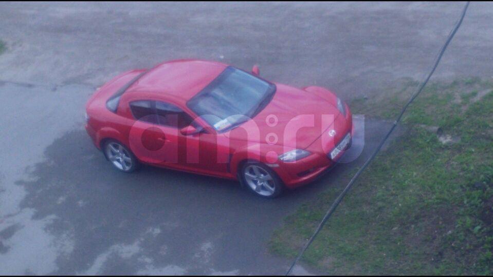 Подержанный Mazda RX-8, хорошее состояние, красный , 2007 года выпуска, цена 700 000 руб. в ао. Ханты-Мансийском Автономном округе - Югре