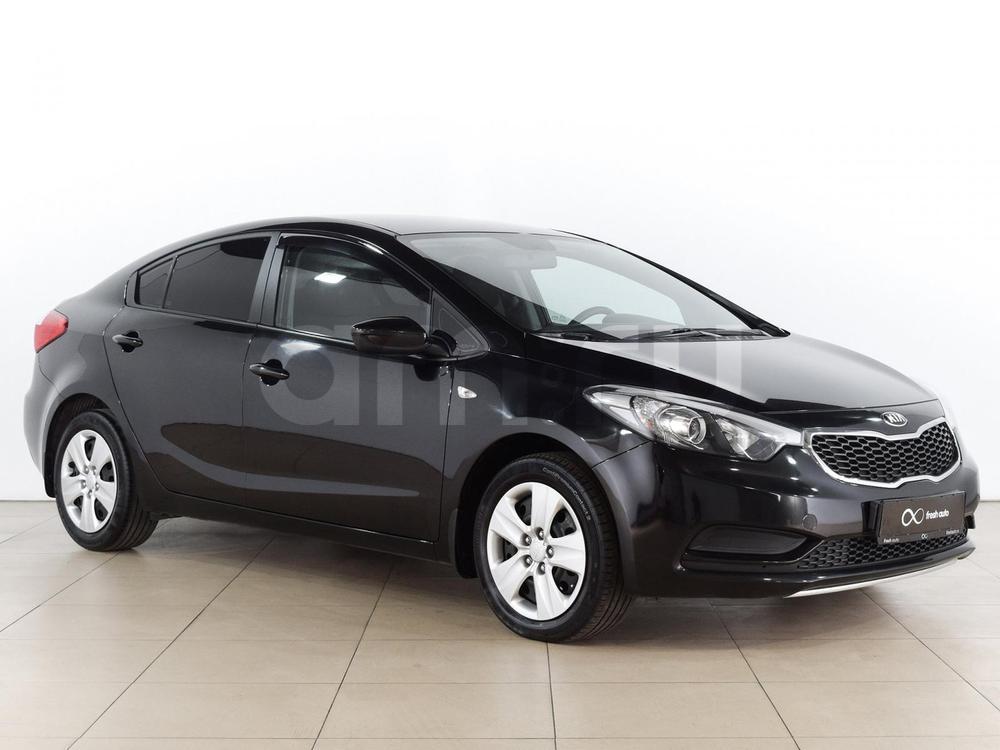Kia Cerato с пробегом, черный , отличное состояние, 2014 года выпуска, цена 639 000 руб. в автосалоне  ()