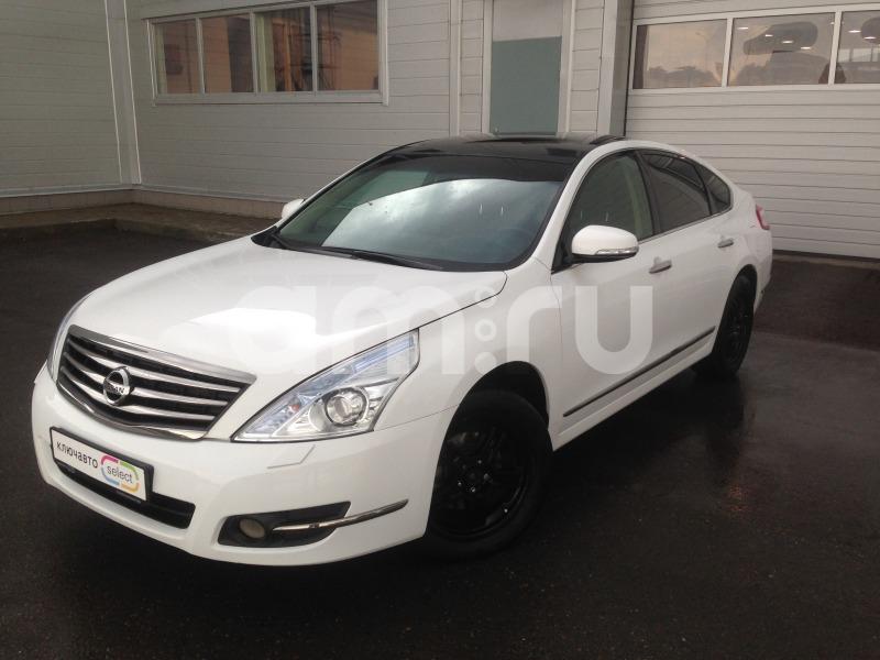 Nissan Teana с пробегом, белый металлик, отличное состояние, 2013 года выпуска, цена 805 000 руб. в автосалоне  ()
