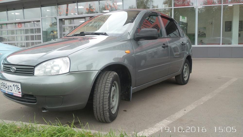Подержанный ВАЗ (Lada) Kalina, отличное состояние, серый , 2010 года выпуска, цена 195 000 руб. в республике Татарстане