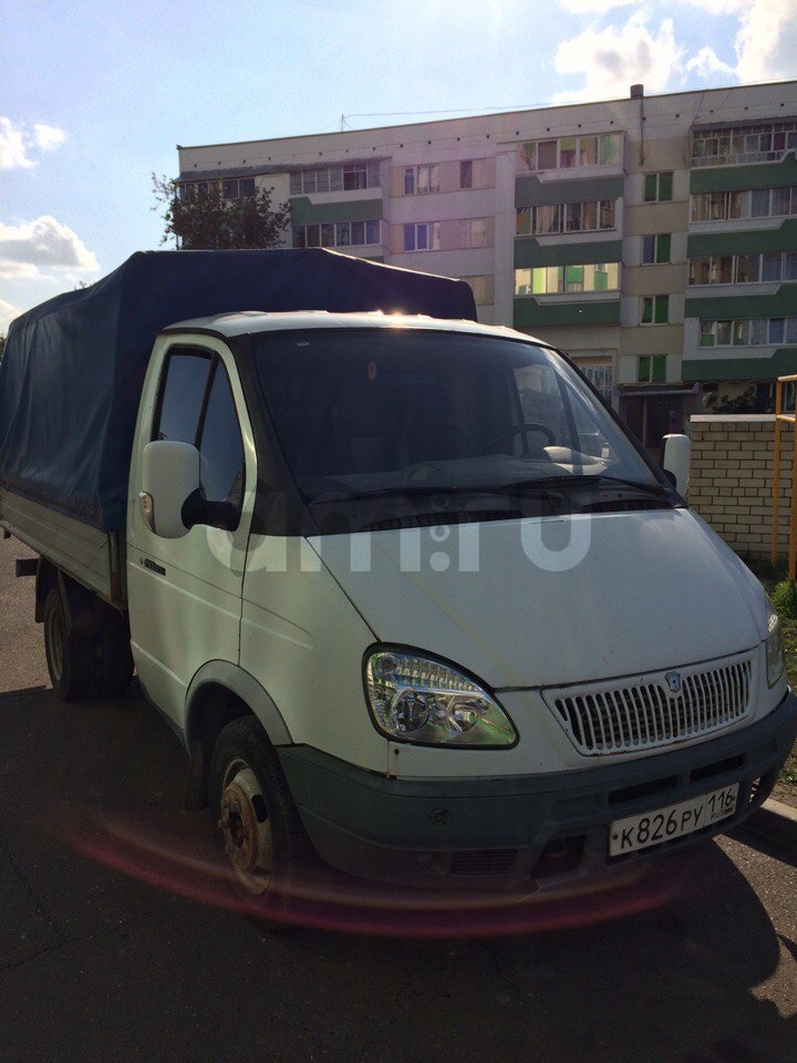 Подержанный ГАЗ Газель, хорошее состояние, белый , 2008 года выпуска, цена 205 000 руб. в республике Татарстане