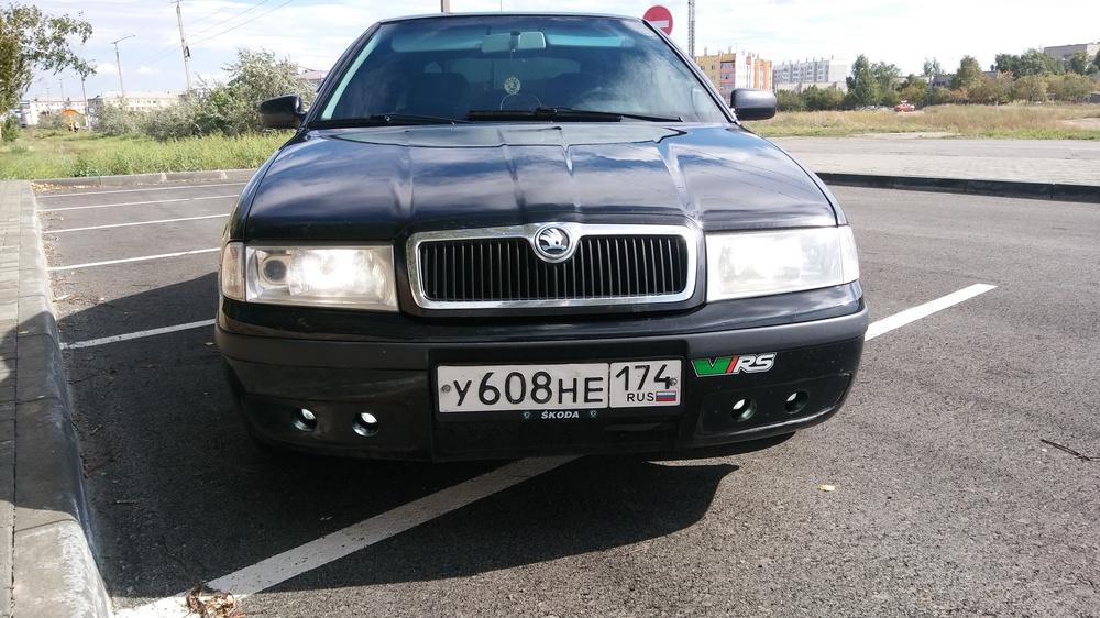Подержанный Skoda Octavia, отличное состояние, черный , 2008 года выпуска, цена 340 000 руб. в Челябинской области
