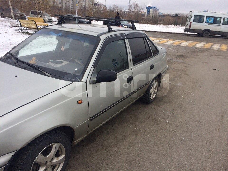 Подержанный Daewoo Nexia, среднее состояние, серый , 2005 года выпуска, цена 99 000 руб. в ао. Ханты-Мансийском Автономном округе - Югре
