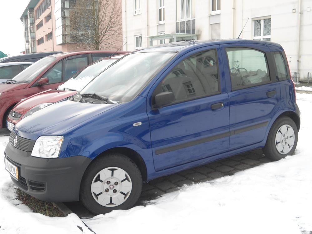 Подержанный Fiat Panda, хорошее состояние, синий перламутр, 2009 года выпуска, цена 200 000 руб. в Челябинской области