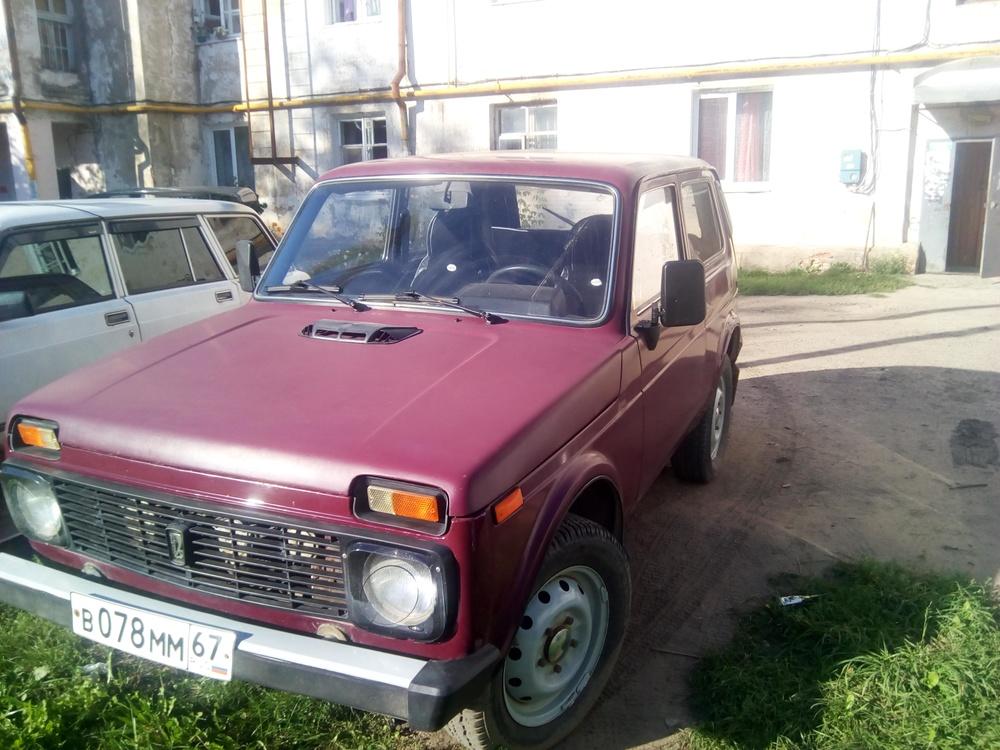Подержанный ВАЗ (Lada) 4x4, хорошее состояние, красный матовый, 2006 года выпуска, цена 170 000 руб. в Смоленской области