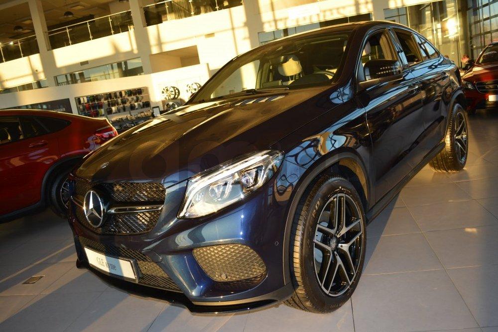 Новый авто Mercedes-Benz GLE-Класс, синий металлик, 2016 года выпуска, цена 5 515 000 руб. в автосалоне  ()