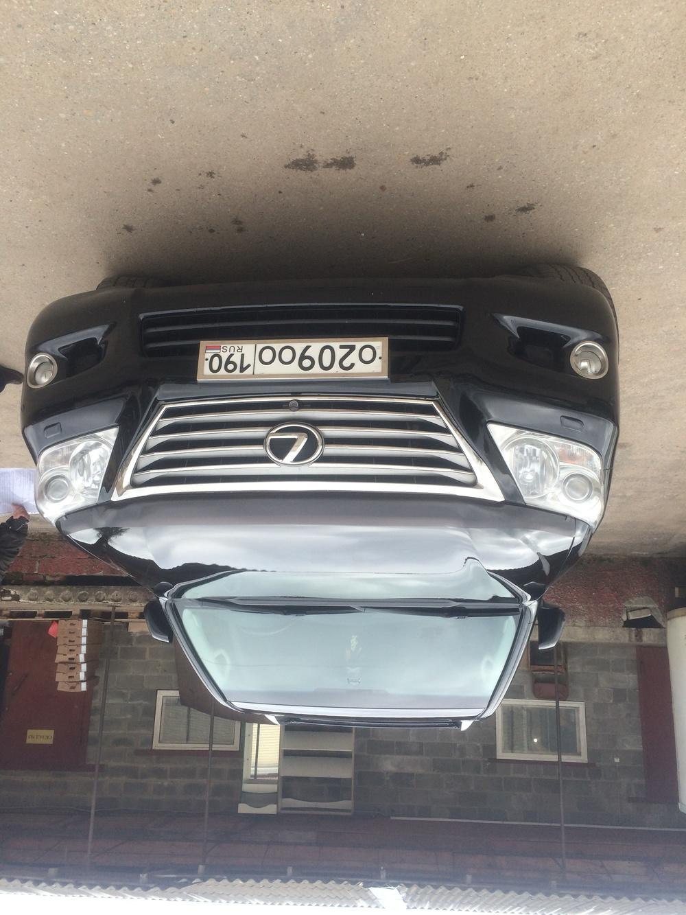 Подержанный Lexus LX, отличное состояние, черный металлик, 2008 года выпуска, цена 1 900 000 руб. в Смоленской области