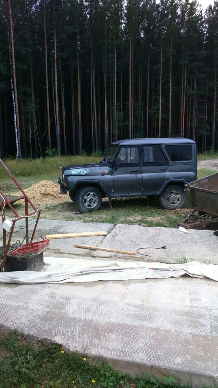 Подержанный УАЗ Hunter, отличное состояние, синий , 2005 года выпуска, цена 250 000 руб. в ао. Ханты-Мансийском Автономном округе - Югре