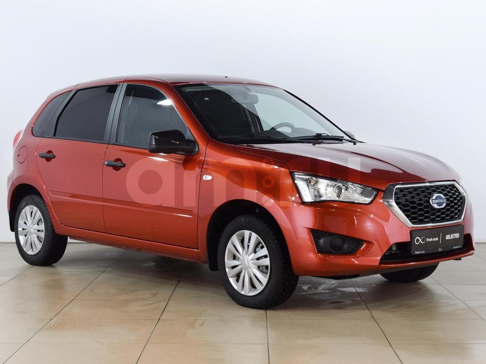 Datsun mi-Do с пробегом, оранжевый , отличное состояние, 2016 года выпуска, цена 520 000 руб. в автосалоне  ()