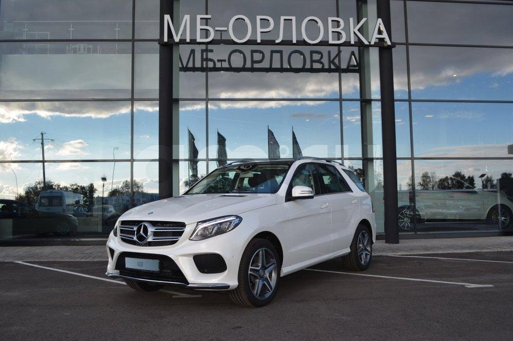 Новый авто Mercedes-Benz GLE-Класс, белый бриллиант, 2016 года выпуска, цена 4 190 000 руб. в автосалоне МБ-Орловка (Набережные Челны, тракт Мензелинский, д. 24)